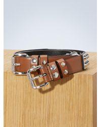 Prada - Studded Belt - Lyst