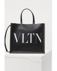 Valentino - Vltn Shopping Bag - Lyst