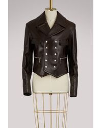 Chloé - Studded Leather Jacket - Lyst