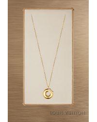 Louis Vuitton - Lv & Me Necklace, Letter O - Lyst