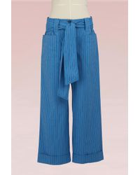 Tory Burch - Cotton Robin Pant - Lyst