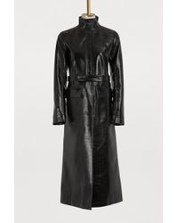 Courreges - Vinyl Trench Coat - Lyst