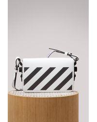 Off-White c/o Virgil Abloh | Diag Square Mini Shoulder Bag | Lyst