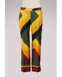 F.R.S For Restless Sleepers - Ceo Silk Trousers - Lyst