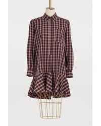 Étoile Isabel Marant - Ondria Cotton Dress - Lyst