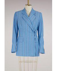 AALTO - Striped Jacket - Lyst