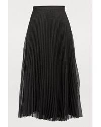 Anine Bing - Lovisa Pleated Skirt - Lyst