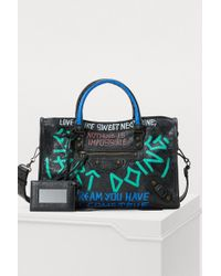 Balenciaga - Graffiti City Handbag - Lyst