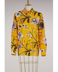 Emilio Pucci - Embroided Silk Pajama Shirt - Lyst