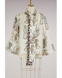 La Prestic Ouiston | Naviglio Silk Blouse | Lyst