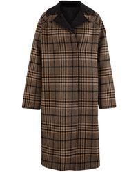 Ganni - Belted Coat - Lyst