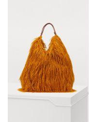 Dries Van Noten - Faux Fur Bag - Lyst