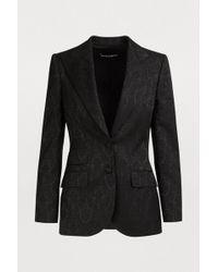 Dolce & Gabbana - Brocade Blazer - Lyst