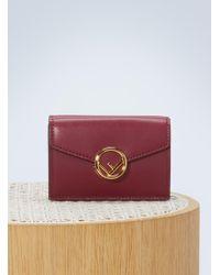 Fendi - Tri-fold Wallet - Lyst