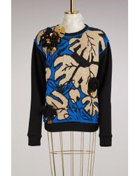 Michaela Buerger - Embroidered Knitted Jumper - Lyst