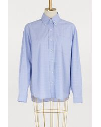 Miu Miu - Glen Plaid Shirt - Lyst