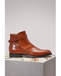 Church's - Merthyr Leather Ankle Boots - Lyst