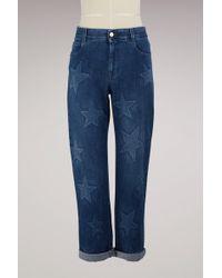 Stella McCartney - Boyfriendstar Jeans - Lyst