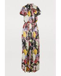 Dolce & Gabbana - Hydrangea Lurex Dress - Lyst