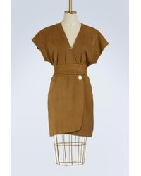 Vanessa Bruno - Itcha Sheepskin Dress - Lyst