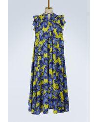 Balenciaga - Short Sleeves Long Dress - Lyst