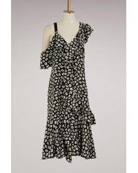 Proenza Schouler - Silk Asymetrical Dress - Lyst