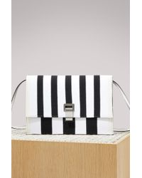 Proenza Schouler - Small Striped Lunch Bag - Lyst