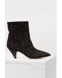 Valentino - Studded Ankle Boots - Lyst