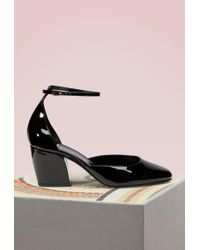 Pierre Hardy - Calamity Leather Court Shoes - Lyst