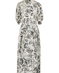 Alexander McQueen - Silk Dress - Lyst