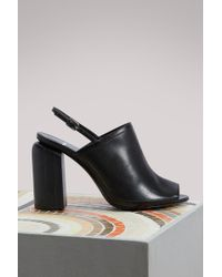 Pierre Hardy - Calf Rally Sandals - Lyst