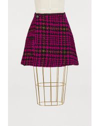 JOUR/NÉ - Short Houndstooth Skirt - Lyst