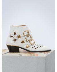 Chloé   Susanna Ankle Boots   Lyst