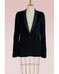 Pallas - Baldwin Velvet Jacket - Lyst