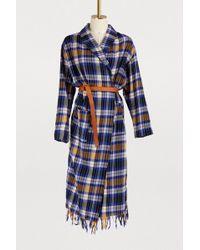 Forte Forte - Tartan Wool Coat - Lyst