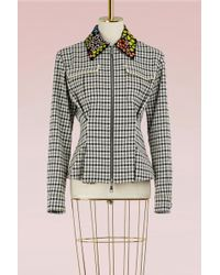 Mary Katrantzou - Hooper Jacket With Embroidered Collar - Lyst