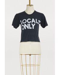 Aviator Nation - Locals Only Boyfriend T-shirt - Lyst