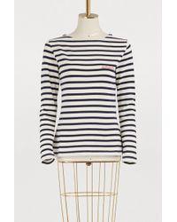 Maison Labiche - Amour Striped Shirt - Lyst
