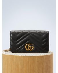 Gucci GG Marmont Wallet On Chain