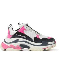 Balenciaga - Baskets Triple S - Lyst