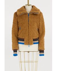 Marco De Vincenzo - Faux Fur Jacket - Lyst