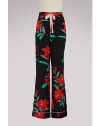 Diane von Furstenberg - Pyjama Pants - Lyst
