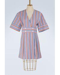 Maison Kitsuné - Striped Sally Dress - Lyst