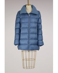 Moncler - Torcyn Down Jacket With Wool Lining - Lyst