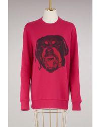Givenchy | Rotweiller Oversied Sweatshirt | Lyst