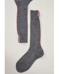 Thom Browne - Wool Socks - Lyst