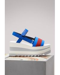 Stella McCartney - Bicolor Sandals - Lyst