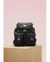 Prada - All Designer Products - Vela Backpack - Lyst