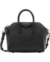 Givenchy Mini Antigona Crossbody Bag - Black