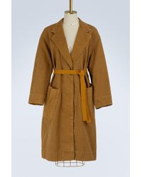 Étoile Isabel Marant - Cotton Laurel Coat - Lyst